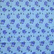 Ткань постельная Маки сиреневые фото
