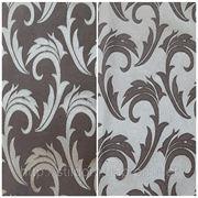 Водоотталкивающая ткань арт.1625 серебро-коричневый. Ш1,5 м. фото