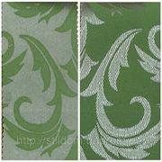 Водоотталкивающая ткань арт.1625 серебро-зеленый, Ш1,5 м. фото