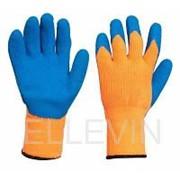 Перчатки акриловые с рельефным латексным покрытием 10 класс фото