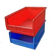 Ящик складской пластиковый фото