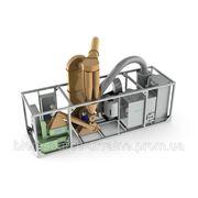 Мобильный брикетный завод 400 кг/час с гидравлическим прессом UMP фото