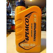 Трансмиссионное масло PEMCO SAE 80W-90 iPOID 589 API GL-5 1л фото