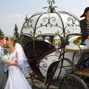Свадебная карета (карета Золушки или 18 в.)! фото