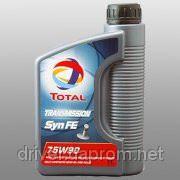 TOTAL TRANSMISSION SYN FE 75W-90 трансмиссионное масло GL4/5 1л фото