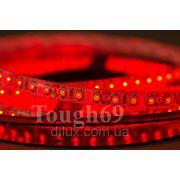 Светодиодная лента Led 3528 120шт/1м влагозащищенная IP55 красная фото