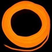 Гибкий неон 2 поколение, 5,0мм - оранжевый фото