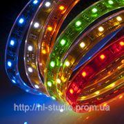Светодиодная лента, типа кристалла SMD 3528 LED, DC 12V (Зеленый) Влагозащита — да, 60 фото