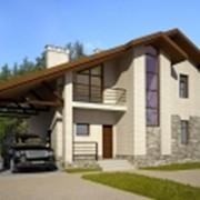 Проекты частных домов из кирпича фото