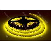 LED лента SMD 3528, герметичная, 120 шт/м, желтая фото