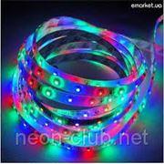 Светодиодная лента SMD 5050-RGB, 30 светодиодов на 1 метр фото
