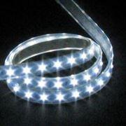 Светодиодная лента LED SMD 3528, 60шт/м, Белая, водонепроницаемая, 1 метр фото