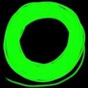 Холодный неон 3 поколение, 2,6 мм - лимонно-зеленый фото
