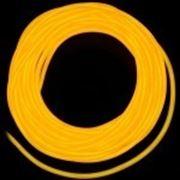 Гибкий неон 2 поколение, 5,0мм - желтый фото