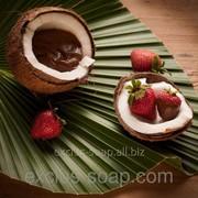 Кокос с клубникой в шоколаде отдушка-10 мл фото