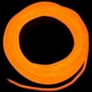 Холодный неон 2 поколение, 2,2 мм - оранжевый фото
