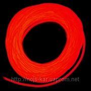 Гибкий неон 2 поколение, 5,0мм - красный фото