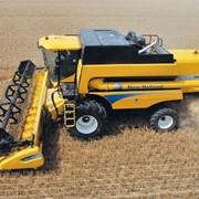 Уборка всех видов зерновых быстро недорого комбайном New holand 7080 фото