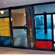 Тонировка стекла архитектурными пленками фото
