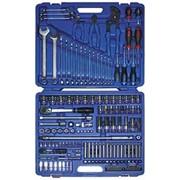 KINGTONY Набор инструментов 153 пр. Предоставляется пожизненная гарантия, все необходимые сертификаты фото