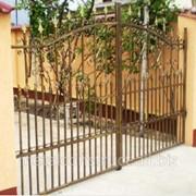 Ворота с ручным управлением №69 фото