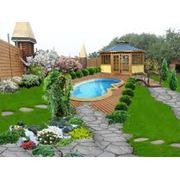 Проекты организации садов в г. Астана фото