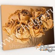 Арт букет роз арт.ТФХ4797 фотокартина (Размер R1 40х60 ТФХ) фото