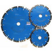 Алмазный диск по бетону сегментный фото