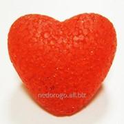 Сердце пластиковое с подсветкой LED К33123 фото