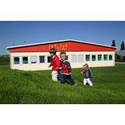 Модульное здание детского сада фото