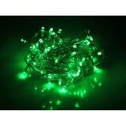 Гирлянда 100LED светодиодов свет зеленый фото