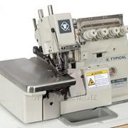 Typical GN3000-4H Высокоскоростной 2-игольный четырех ниточный оверлок фото