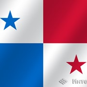Флаг национальный Панама фото