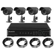 Комплект видеонаблюдения из 4-х камер фото