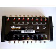 Усилитель телевизионного сигнала #7344: 9 x 9 предназначен для использования в составе локальной телевизионной схемы с каскадируемыми мультисвитчами на 9 входов фото