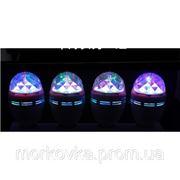 Диско лампа вращающаяся LED lamp для вечеринок 399 купить фото