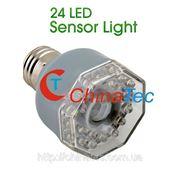 LED лампа с ИК-датчиком движения 3Вт E27 фото