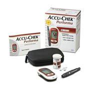 Глюкометры Accu-Chek Performa глюкометр в комплекте ручка и ланцеты Multiclix №12 тест-полосы AccuChek Performa №10 фото