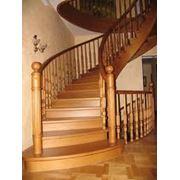 Лестницы лестницы из дерева фото