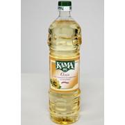 Масло КАМА Подсолнечное рафинированное дезодорированное фото