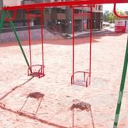 Качели, детские уличные комплексы фото