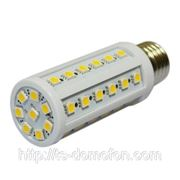 Лампа светодиодная E27-30SMD-5050 фото