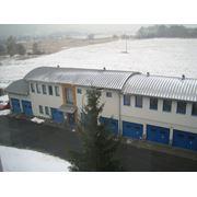 Промышленные крыши из оцинкованного металла с полимерным покрытием и без покрытия мансардные этажи мансарды фото