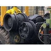 Рама передний и задний мосты в сборе седельного тягача МАЗ фото
