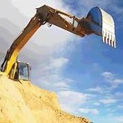 Добыча песка фото