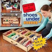 Органайзер для хранения обуви Shoes Under фото