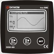 DATAKOM DKM-409 Анализатор сети, 96x96mm, RS-485, дополнит. вход/выход фото