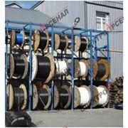 Стеллажные системы для кабельных барабанов