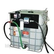 Мобильный заправочный модуль с насосом и счетчиком на 1000 л для дизельного топлива