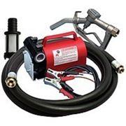 Насос для перекачки и заправки дизельного топлива KIT BATTERY, 12В, (24В) 40 л/мин. Насос для ДТ (дизтоплива) фото